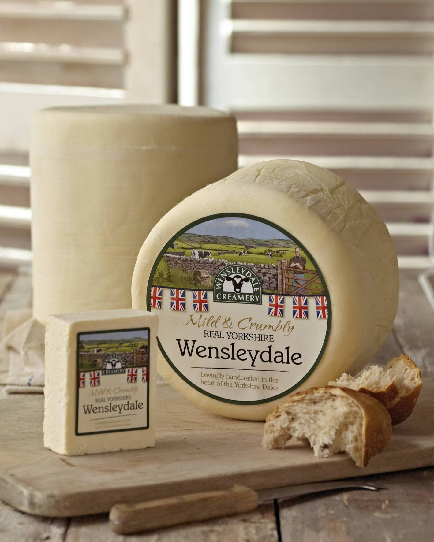 Nostalgic New Look for Wensleydale Creamery