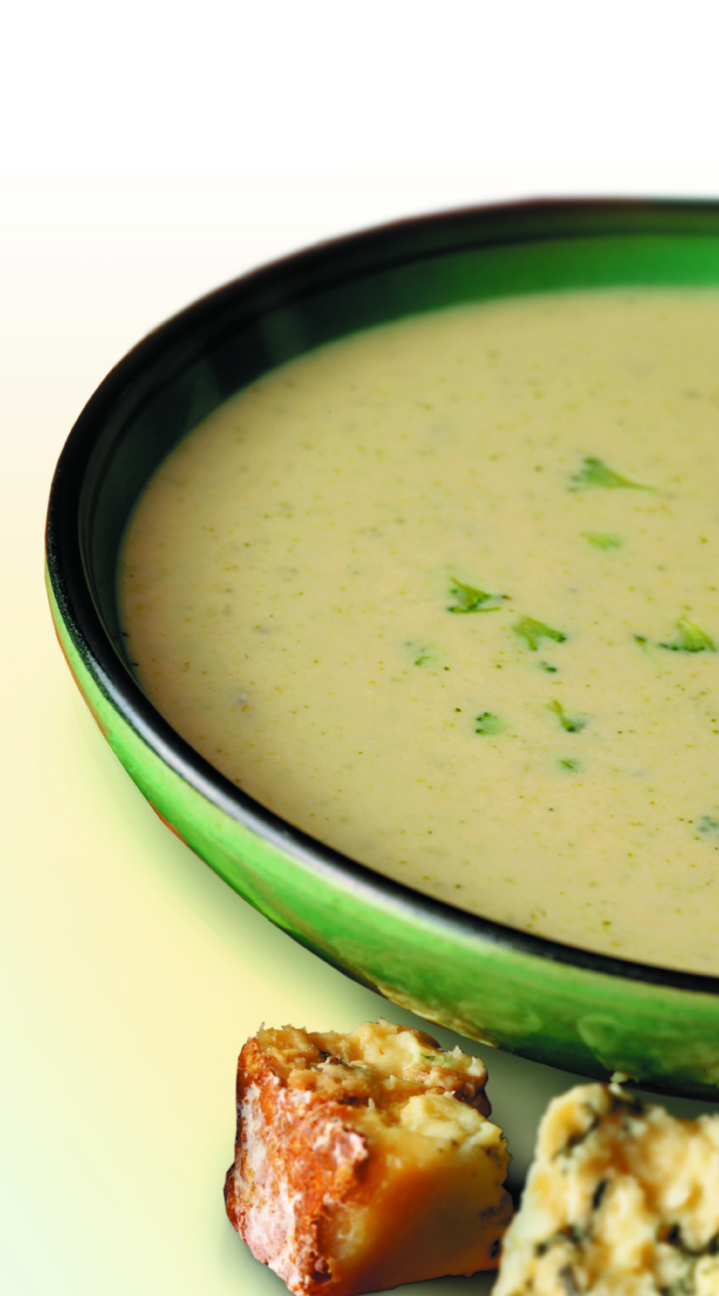 Cream of Celery and Yorkshire Wensleydale Soup