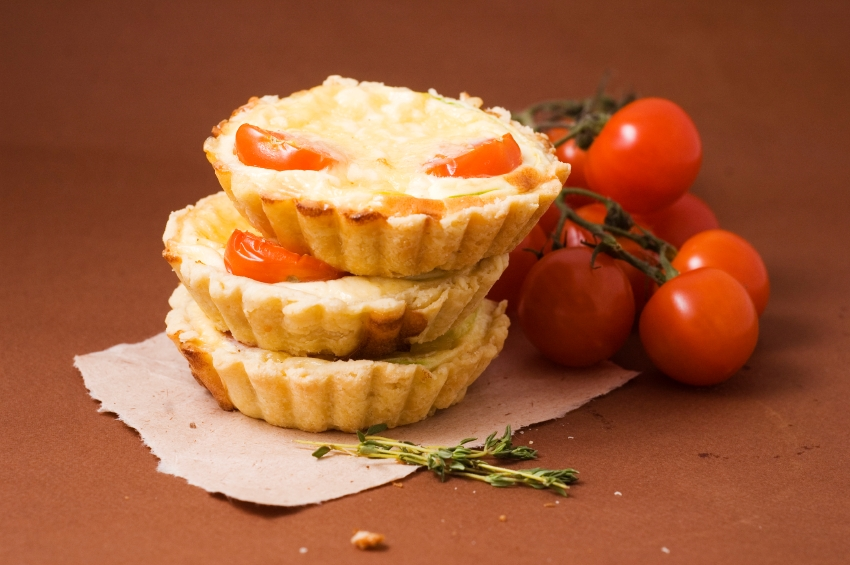 Yorkshire Wensleydale Cheese & Tomato Tartlets