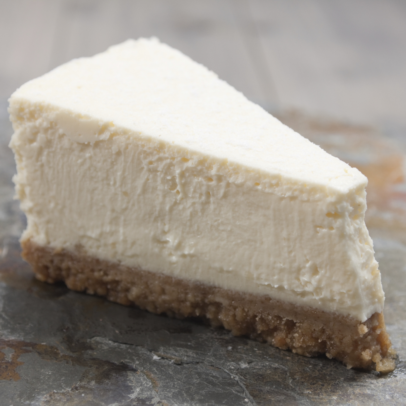 Yorkshire Wensleydale & Ginger Cheesecake
