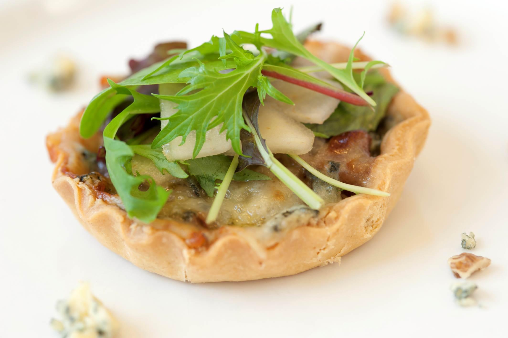 Wensleydale Blue Cheese & Pear Tart
