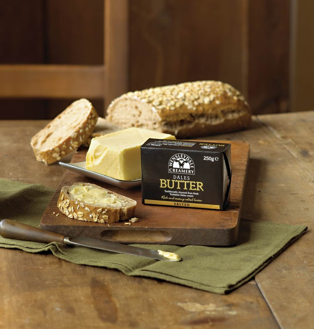Wensleydale Creamery Signs Dales Butter Tesco Distribution Deal