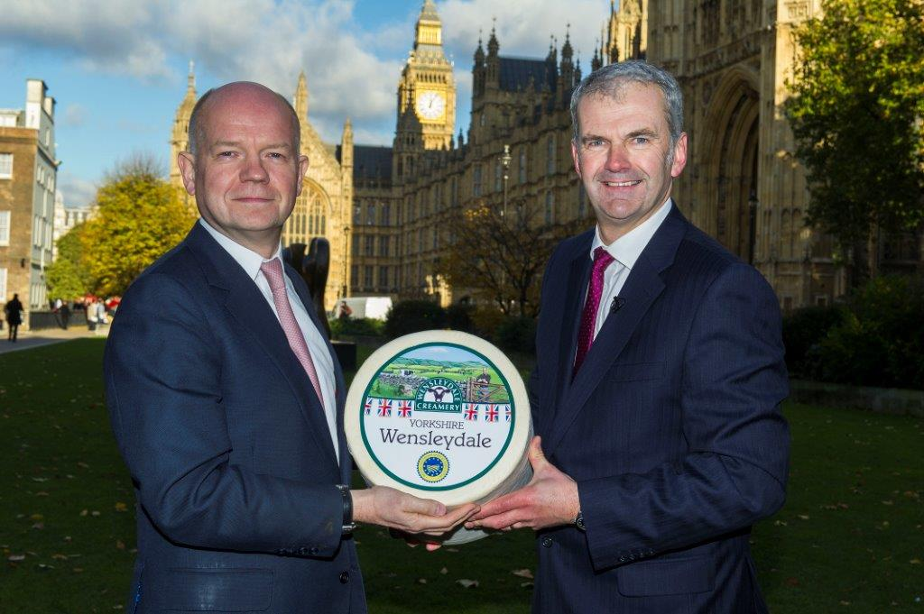 Christmas Celebrations for Yorkshire Wensleydale Cheese