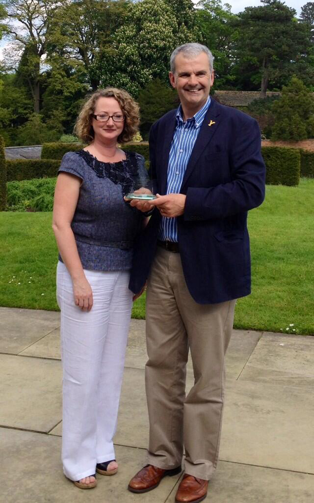The Wensleydale Creamery Scoops Top Prize at 2014 Dalesman Awards
