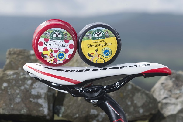The Wensleydale Creamery Launch Limited Edition Cheese Truckles for  The Grand Depart 2014 With Listings in Sainsbury's