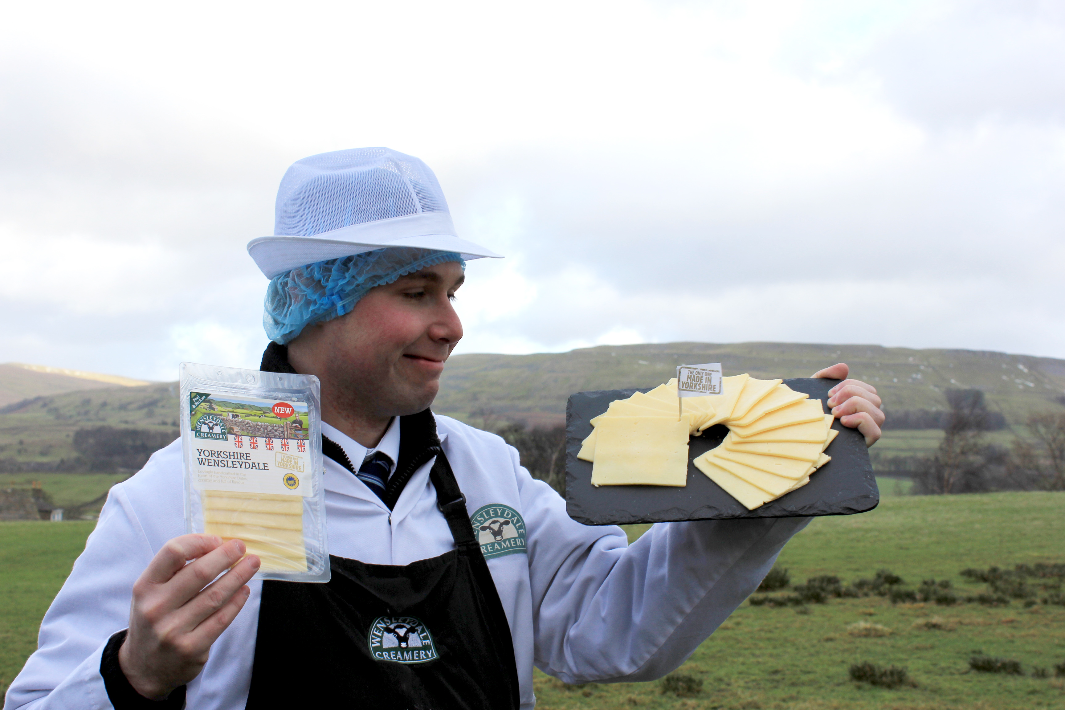 The World's First Crumbly Cheese Slice