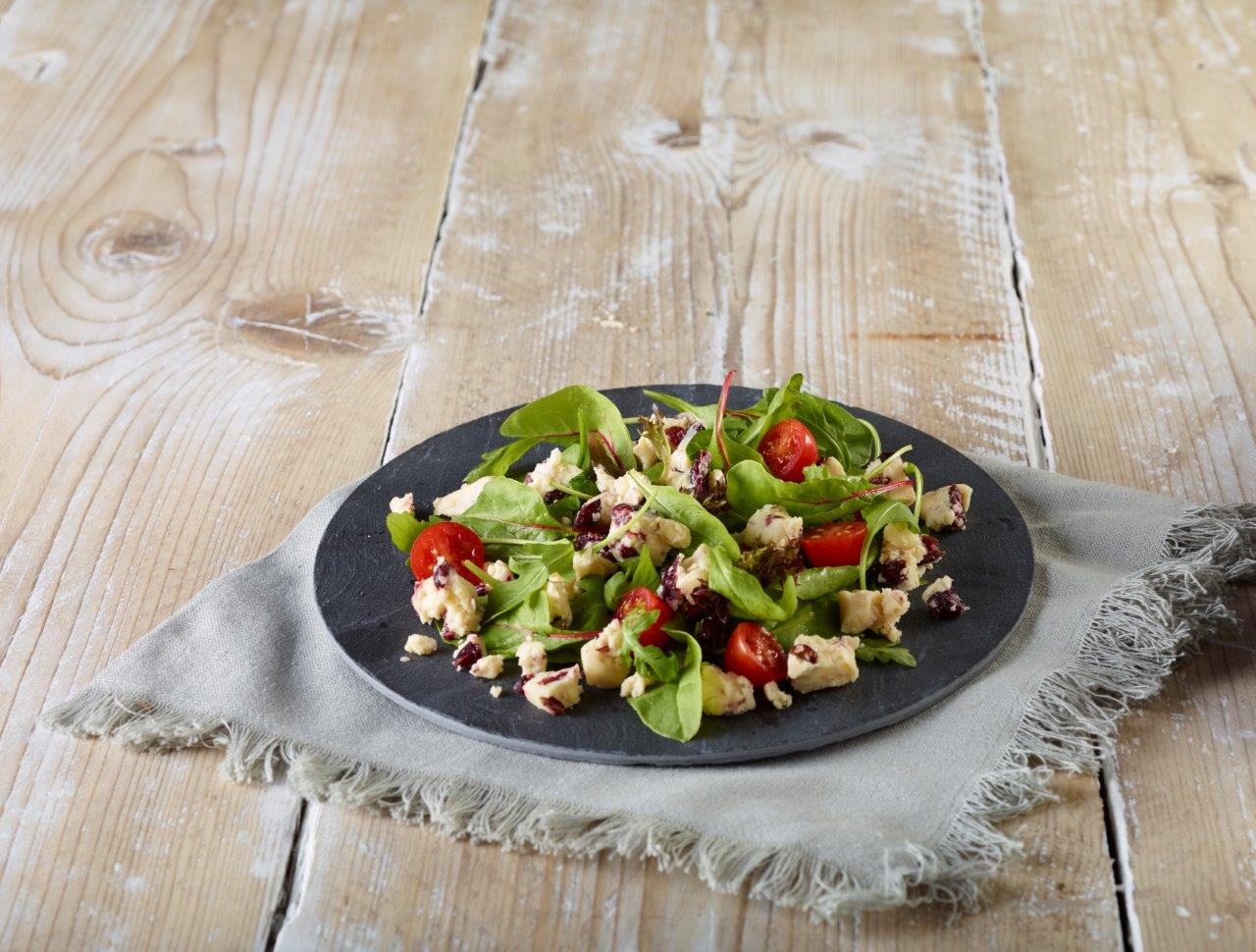 Yorkshire Wensleydale & Cranberries Cheese Salad