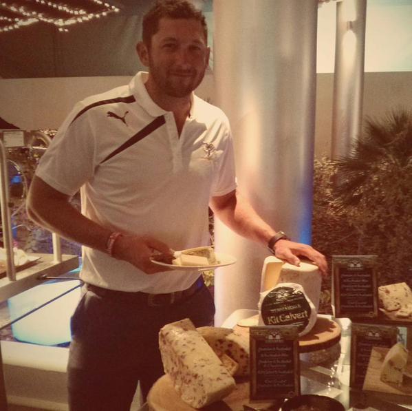 Yorkshire Wensleydale Enjoyed at Dubai Benefit Dinner