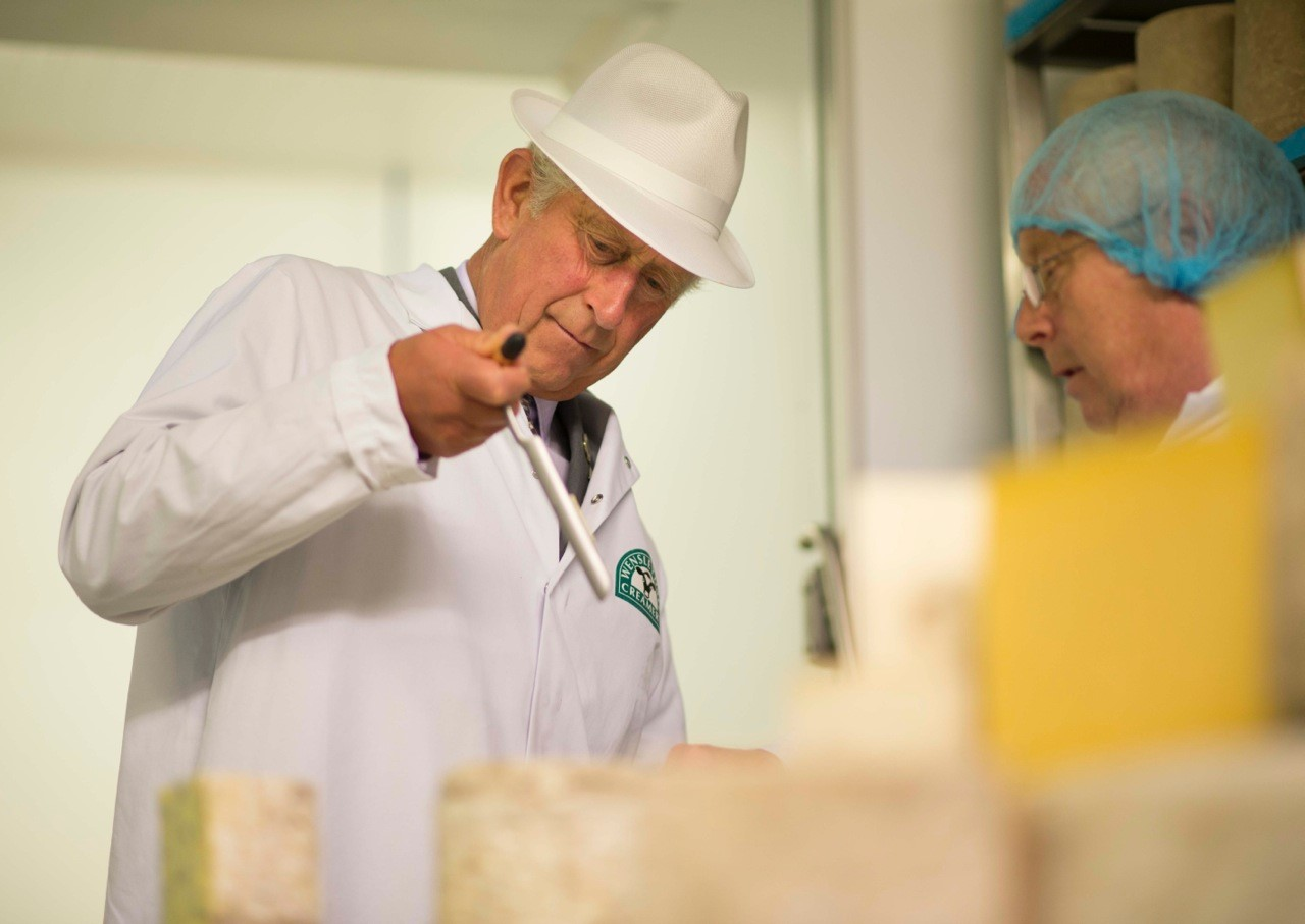 The Wensleydale Creamery Gives a Royal Welcome to HRH The Prince of Wales