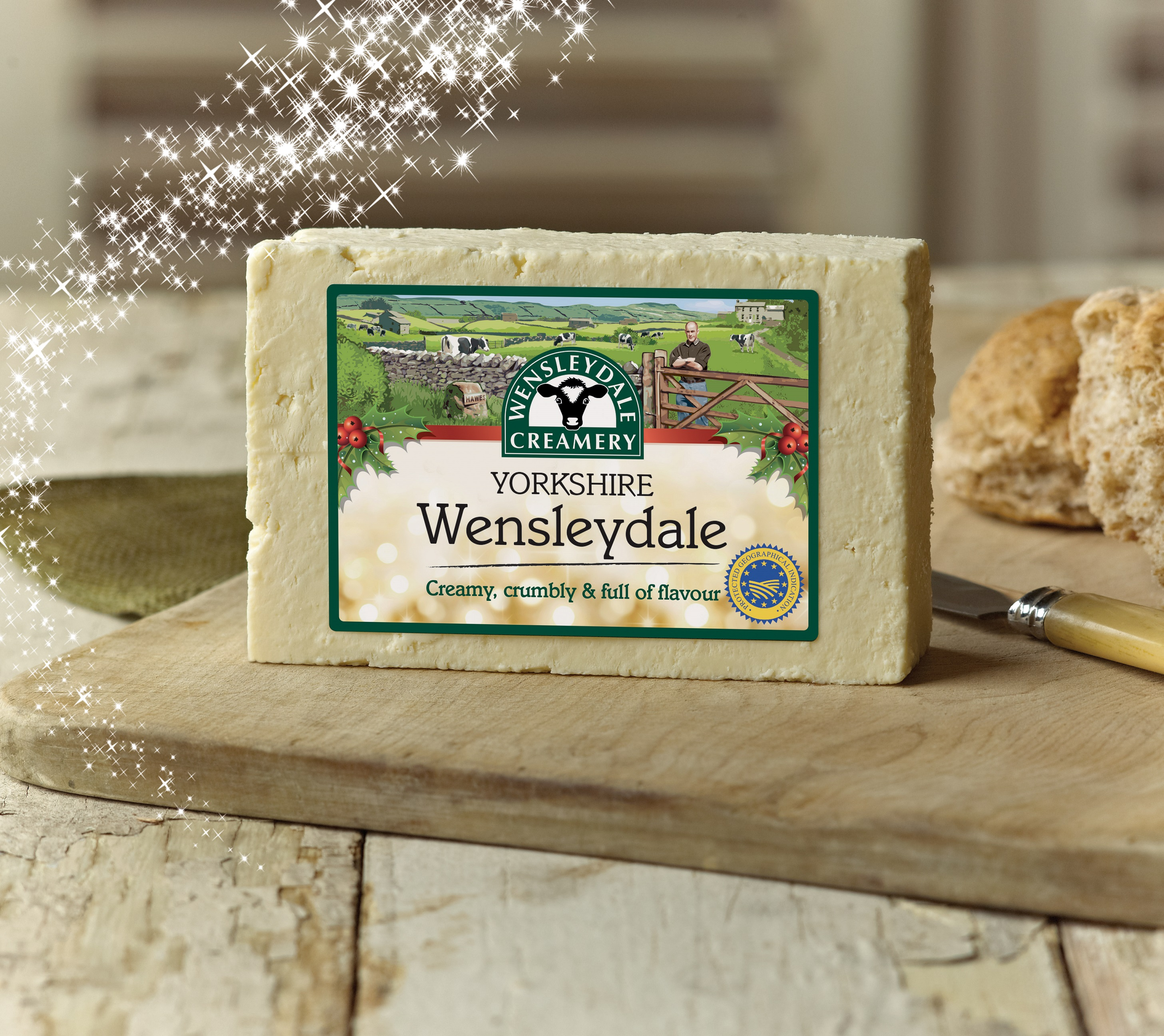 The Wensleydale Creamery Adds a Festive Touch to its Yorkshire Wensleydale Cheese Packaging