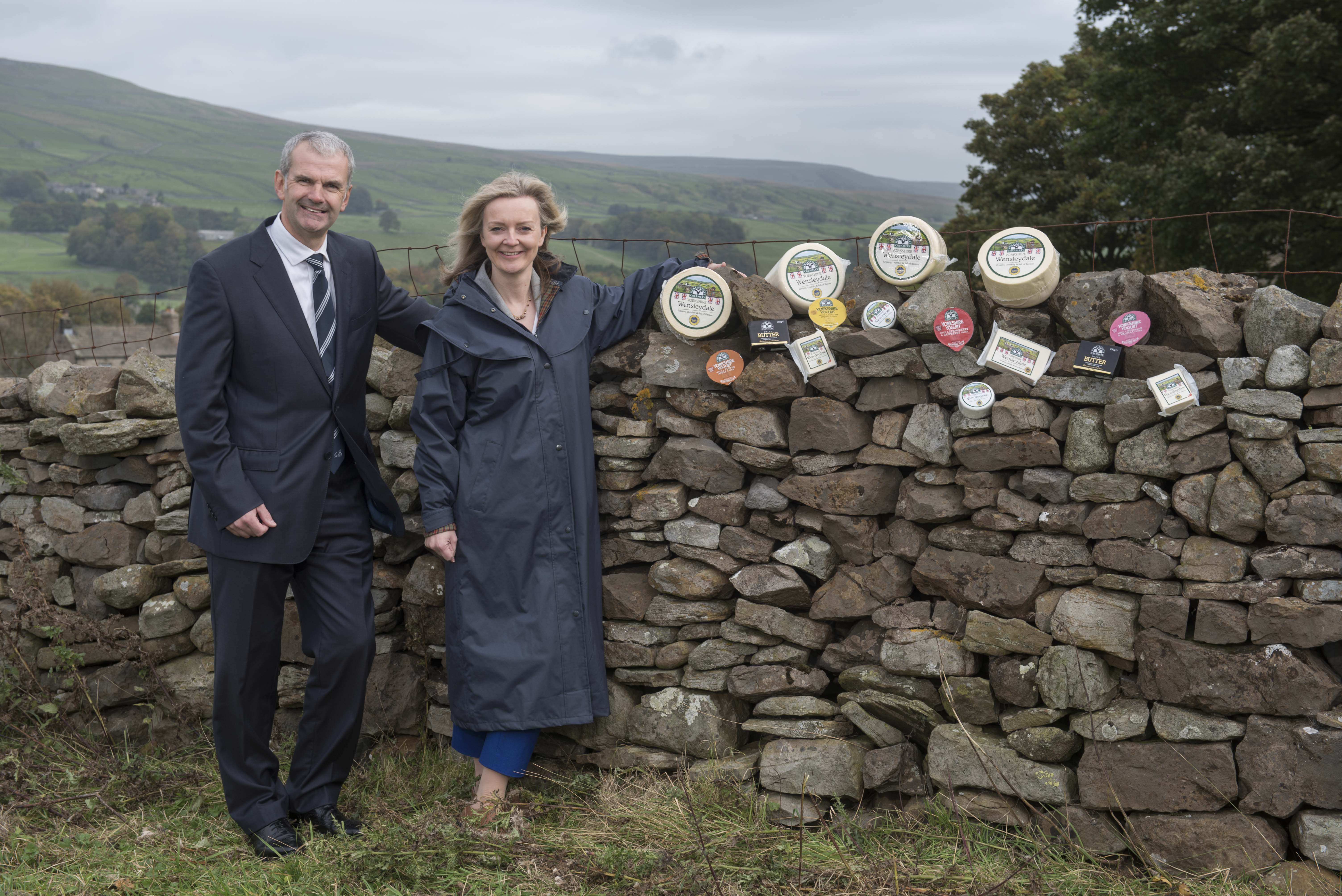Secretary of State visits Food Pioneers, The Wensleydale Creamery