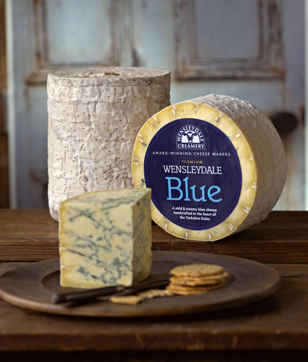 Wensleydale Blue scoops Super Gold