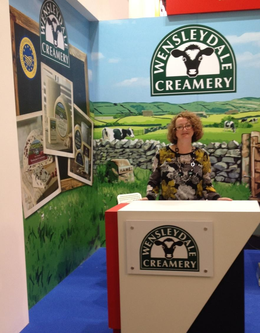 The Wensleydale Creamery Showcases Range at International Trade Show in Paris