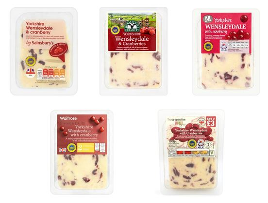 How to find Yorkshire Wensleydale & Cranberries cheese