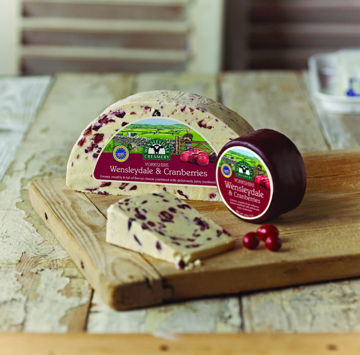 How cranberries made it into Yorkshire Wensleydale cheese