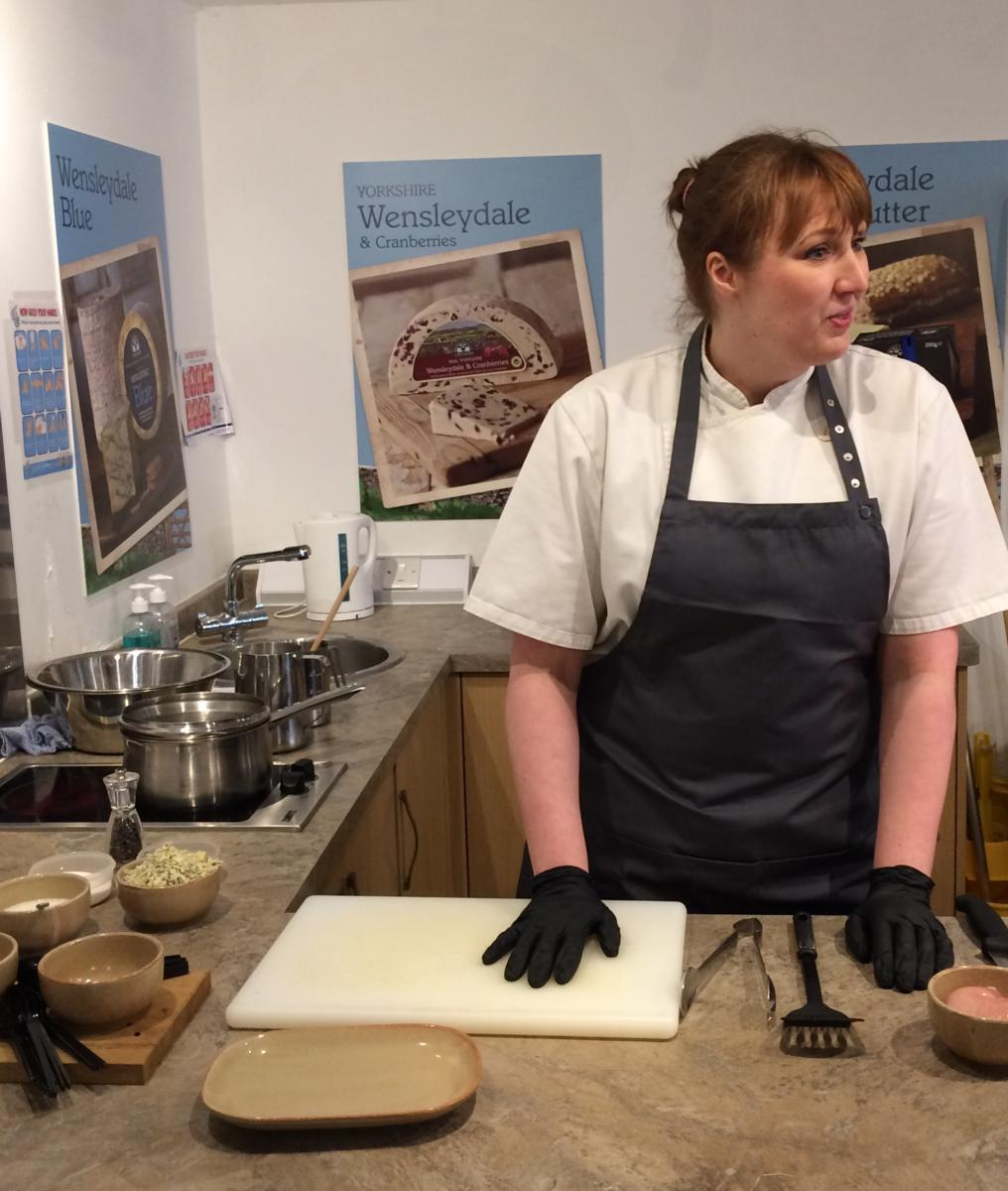 Our Head Chef - Gwen Lambert