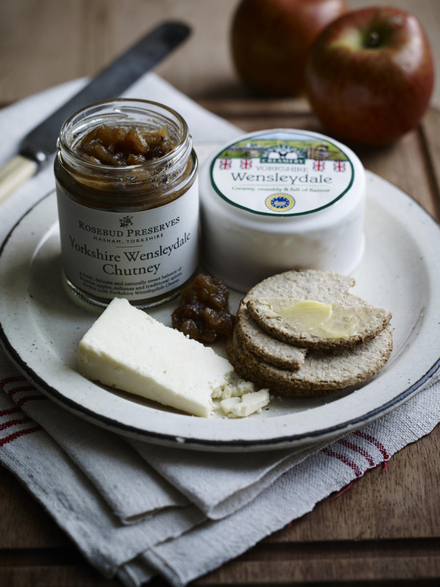 Award-winning Yorkshire food producers collaborate to create a delicious NEW chutney