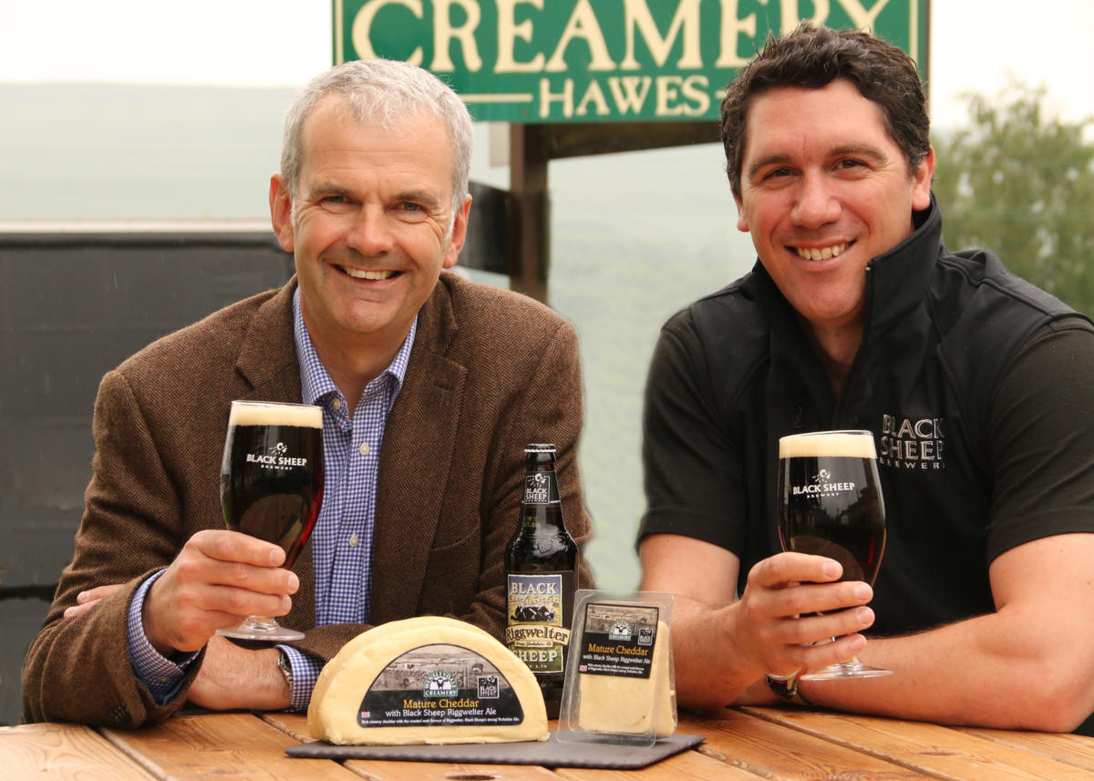 Wensleydale Creamery Mature Cheddar with Black Sheep Riggwelter Ale Launches in Waitrose