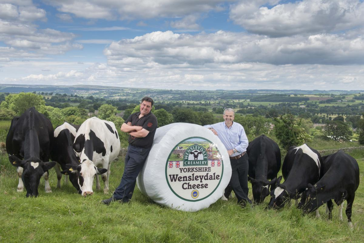 THE WENSLEYDALE CREAMERY CELEBRATES 20 YEARS OF SUCCESS WITH DEDICATED MILK PRODUCER GROUP