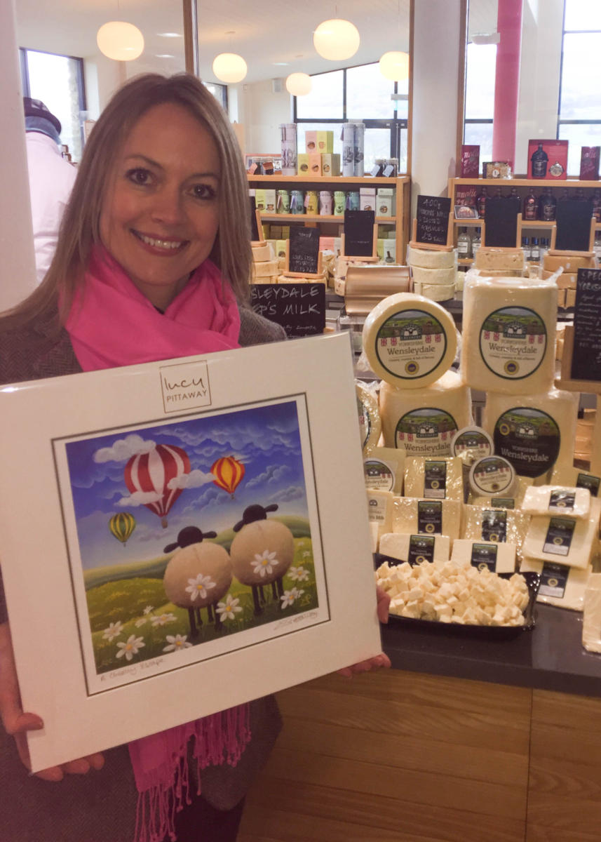 THE WENSLEYDALE CREAMERY TEAMS UP WITH AWARD-WINNING YORKSHIRE ARTIST