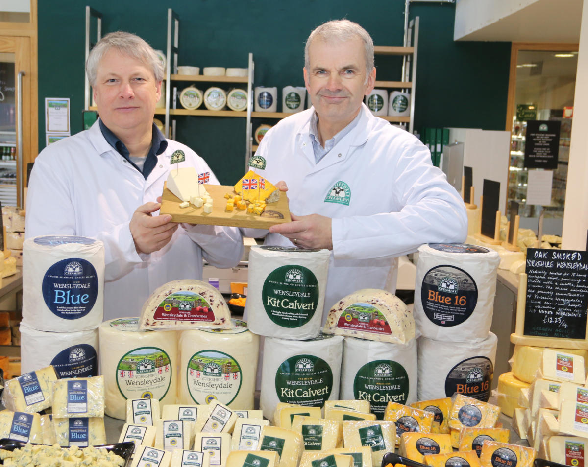 Wensleydale Creamery Announced as Main Sponsor for Second Year
