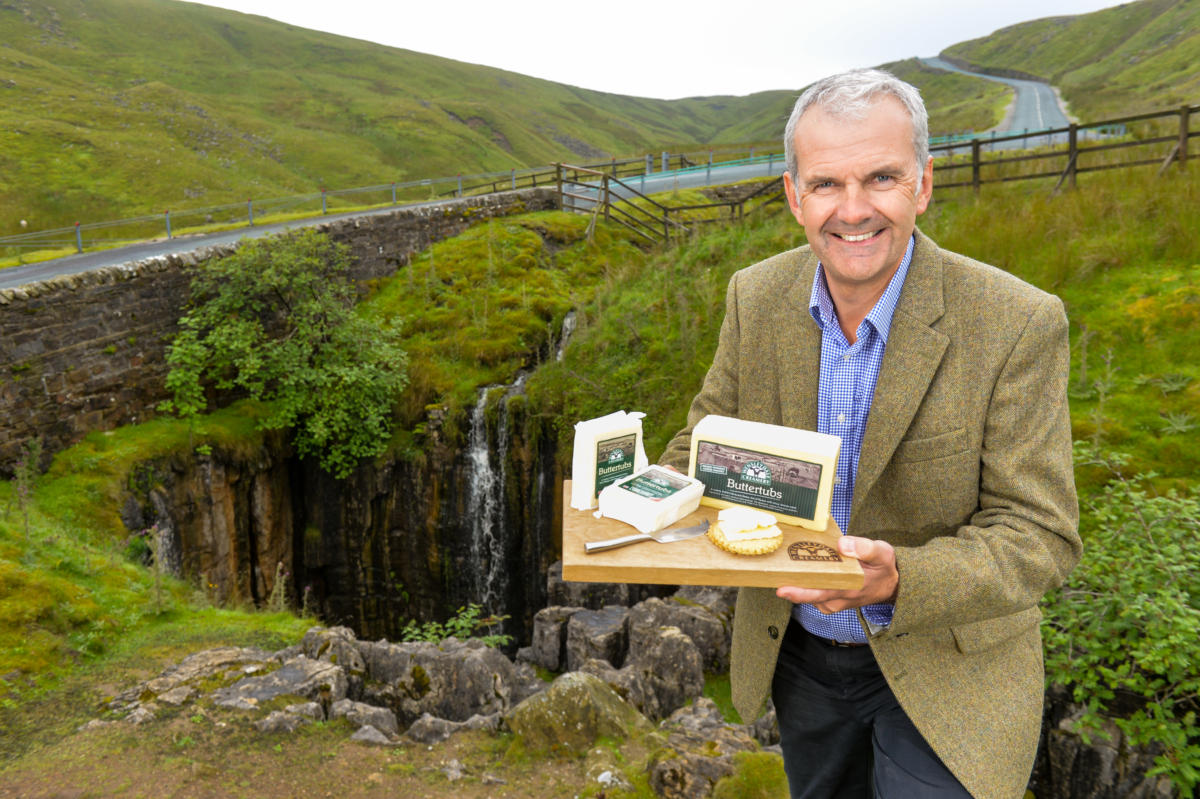 THE WENSLEYDALE CREAMERY INTRODUCES BUTTERTUBS CHEESE TO RANGE