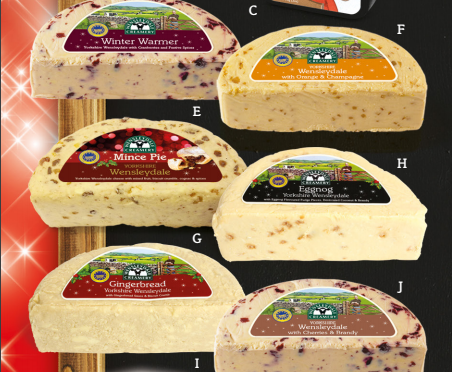 Christmas Flavours from Wensleydale