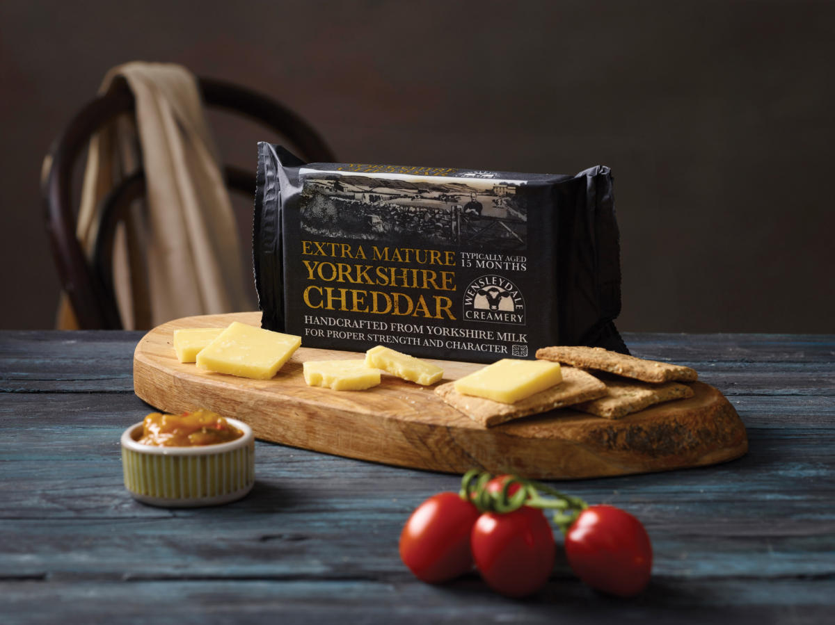 All about....Yorkshire Cheddar!