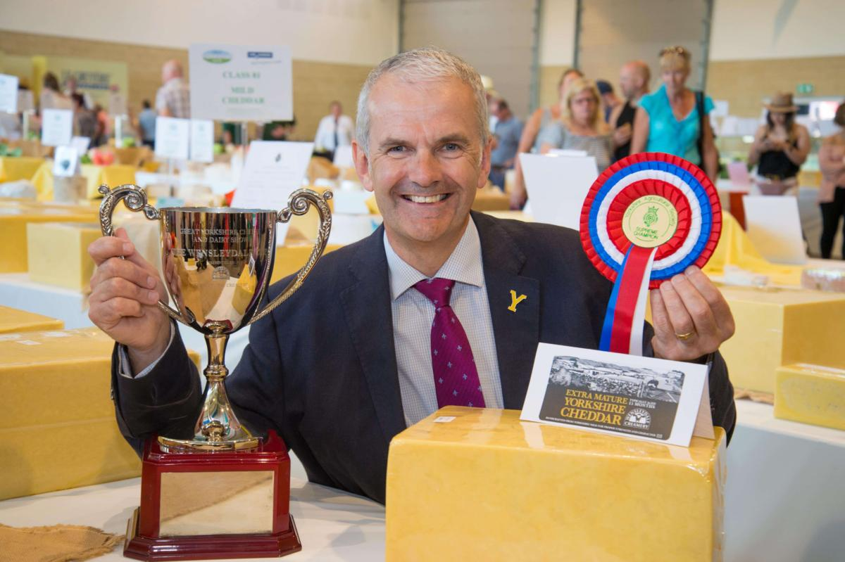 Yorkshire Cheddar Crowned Supreme Champion Cheese At The Great Yorkshire Cheese And Dairy Show