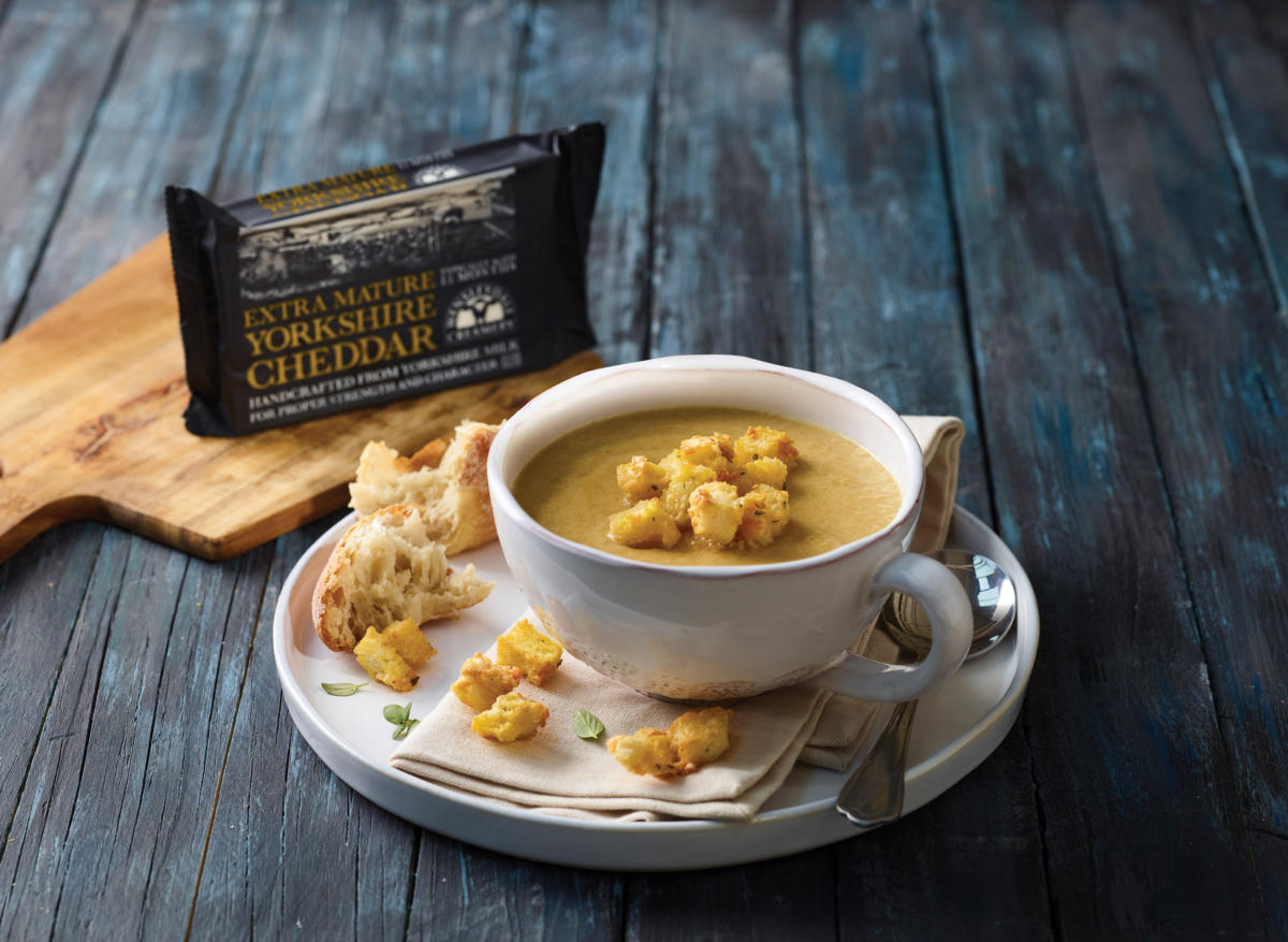 Yorkshire Cheddar & White Onion Soup