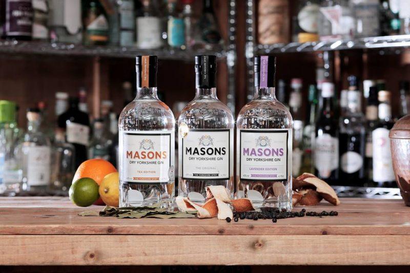 Masons Yorkshire Gin Tasting 30th October