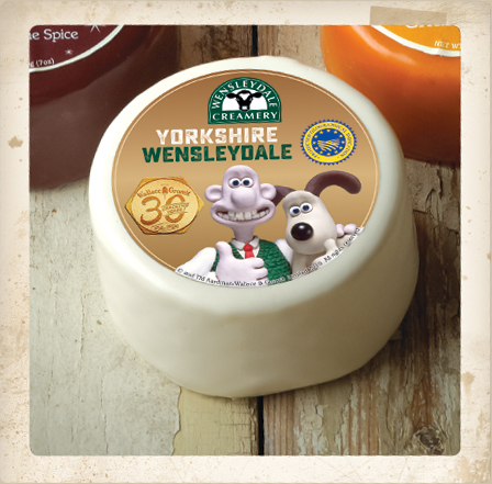 Digital Days Out Friday 17th April: How Yorkshire Wensleydale is Wallace's favourite cheese!