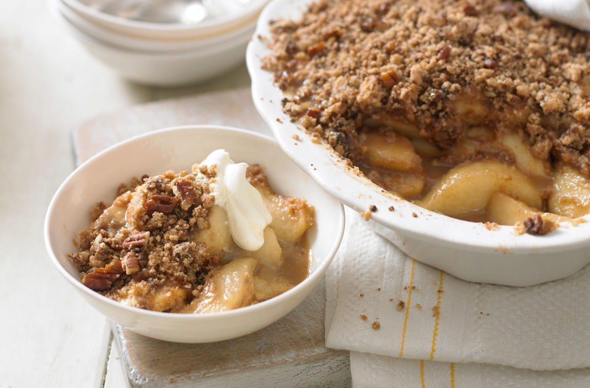 Yorkshire Wensleydale Apple Crumble