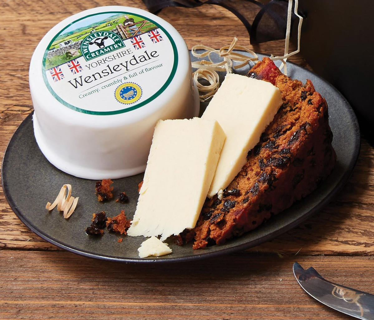 Yorkshire Wensleydale Cheese & Fruit Cake: The Perfect Christmas Combination