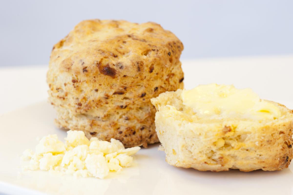 Yorkshire Wensleydale Cheese Scones