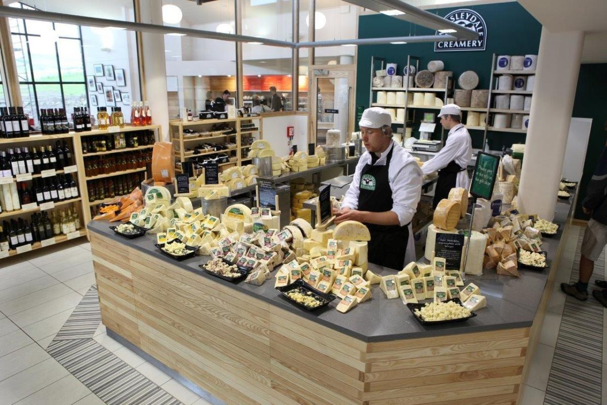 Digital Days Out Wednesday 15th April - Our Cheese Shop