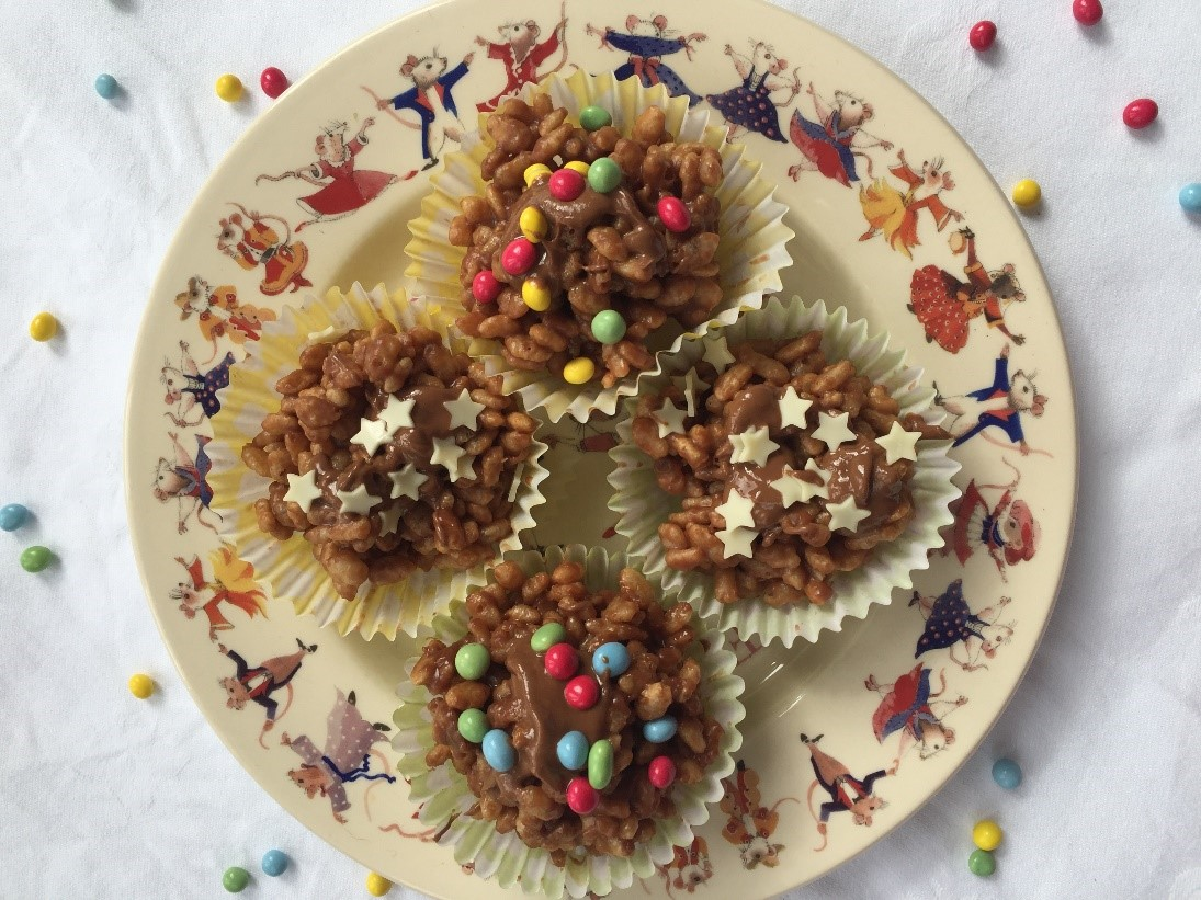 Digital Days Out Friday 17th April: Kids Chocolate Rice Krispy Cakes Recipe
