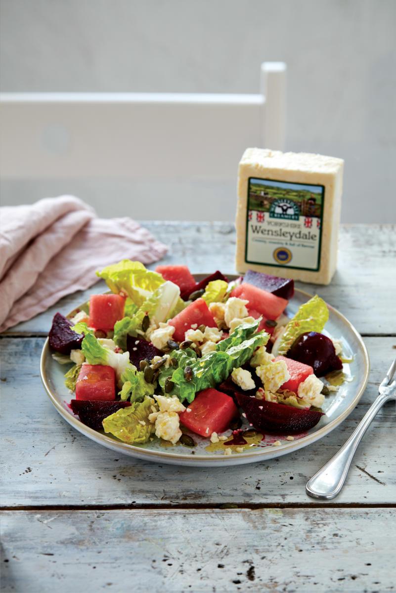 Yorkshire Wensleydale Beetroot and Watermelon Salad (Pack Blur)
