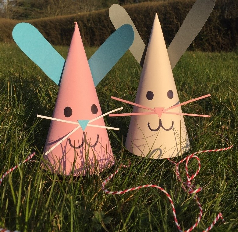 Digital Days Out Monday 6th April - Easter Bunny Hats Kids Activity