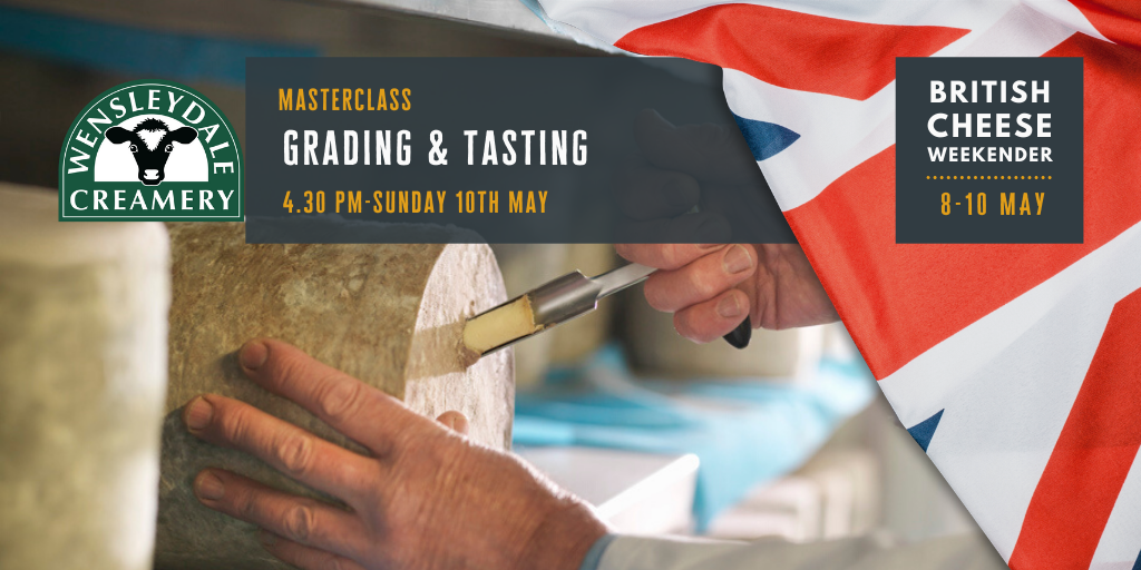 Cheese Grading Masterclass for The British Cheese Weekender