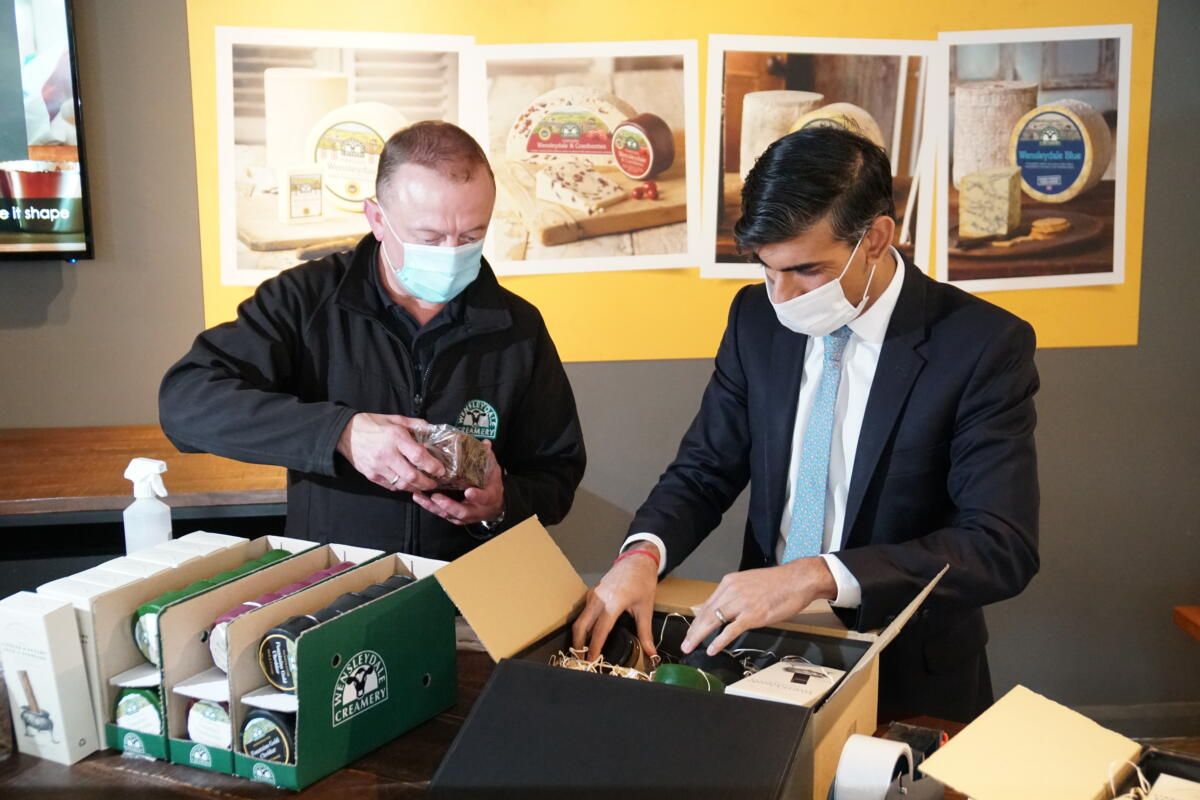 Richmond MP Rishi Sunak Visits Our Visitor Centre To Celebrate Our Reopening