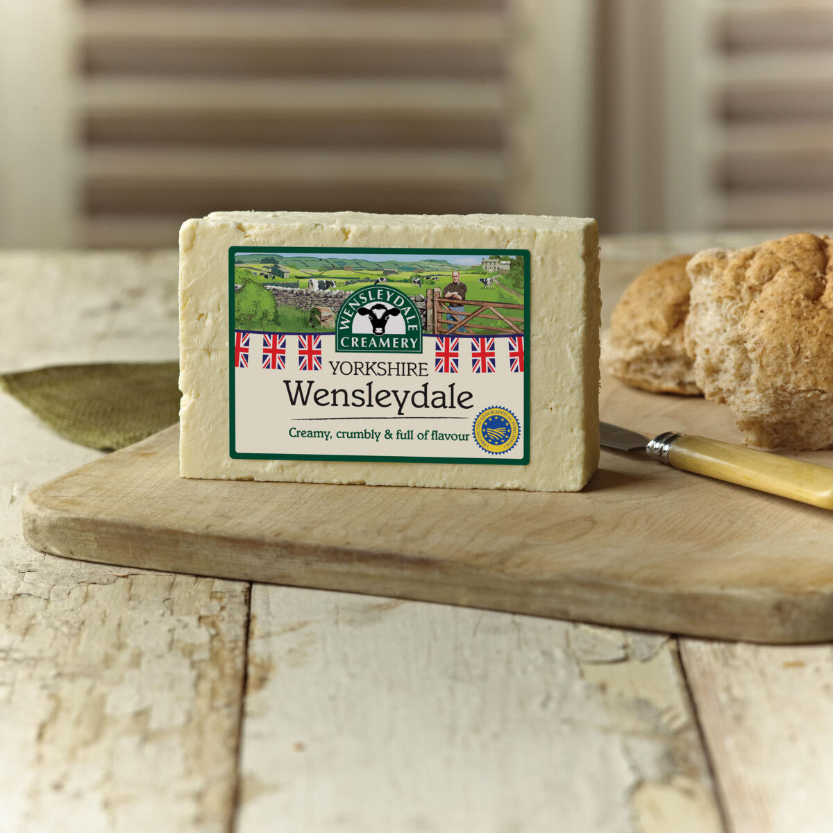 Yorkshire Wensleydale Cheese on Toast