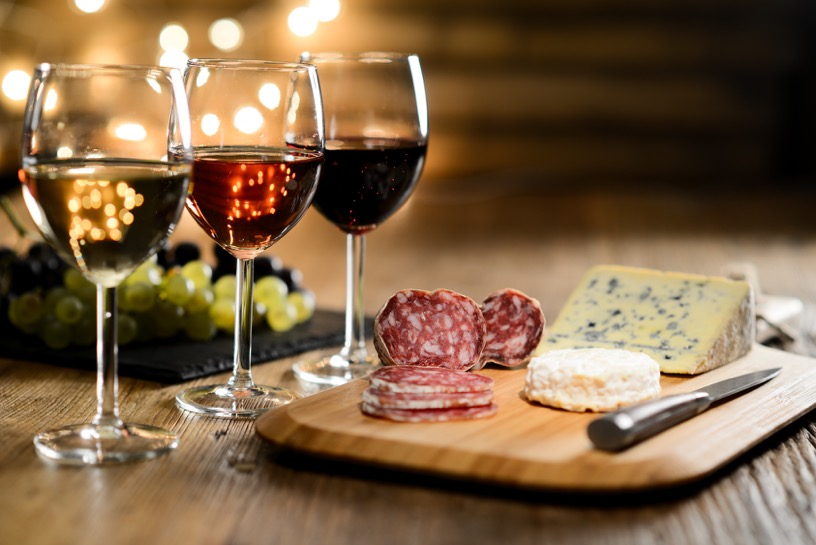 Cheese and Wine - The perfect night in