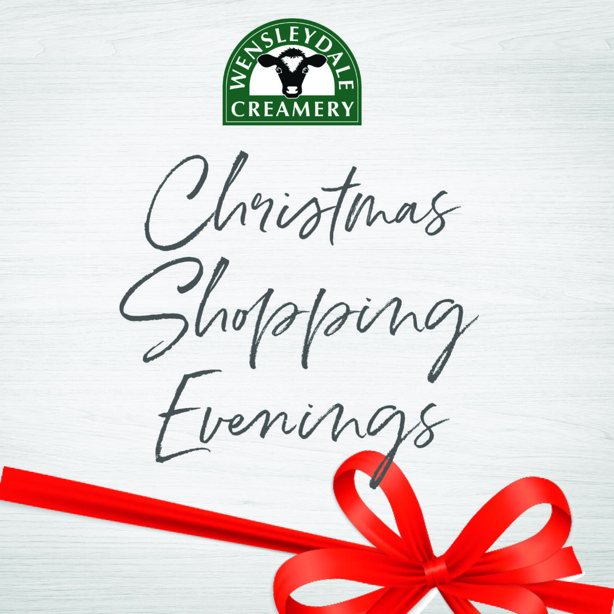 Christmas Shopping Evening Tuesday 7th December 5 - 8:30pm